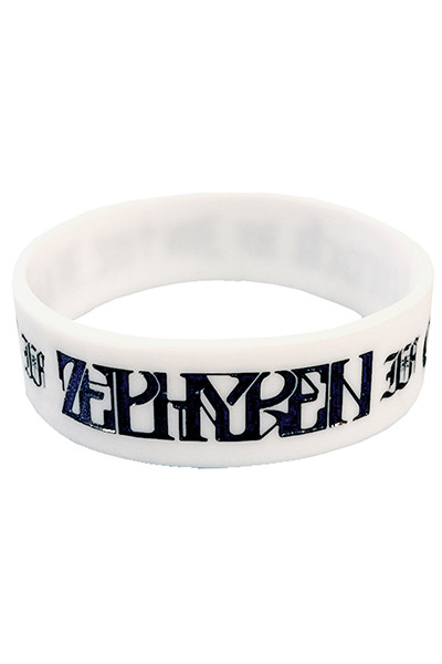 RUBBER BRACELET -In the Family- WHITE