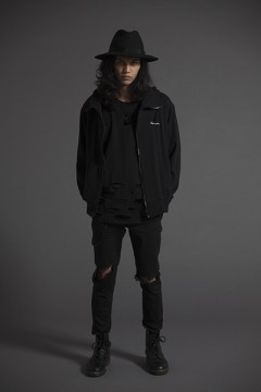 BIG HOOD PARKA -Resolve- BLK
