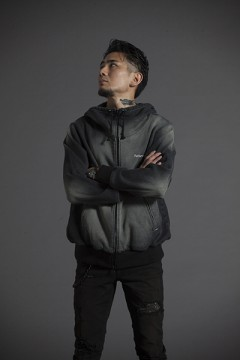 BIG HOOD PARKA -Resolve- BLK-DNM