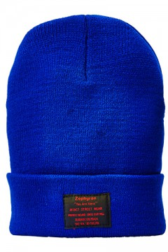LONG BEANIE -You Are Here- BLUE