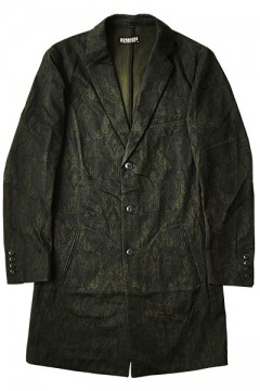CHESTER COAT BLK/PAS