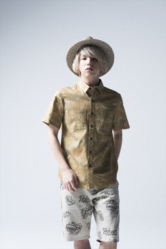 CAMOUFLAGE SHIRT -Charmed SQ Tone- CMO/Ⅲ