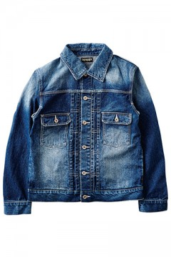 DENIM JKT HARD-WASH