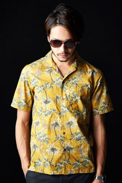ALOHA SHIRT S/S -Resolve- MUS