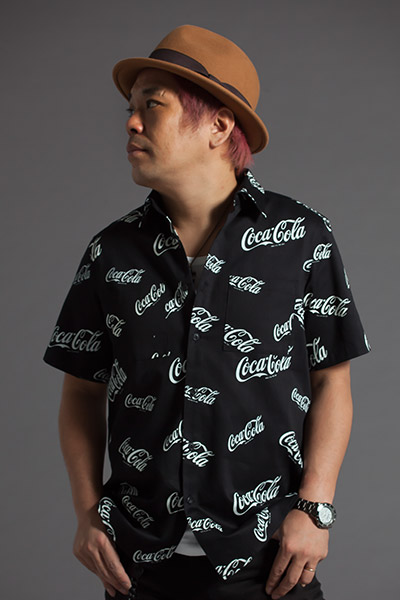 S/S SHIRT -CocaCola- BLACK
