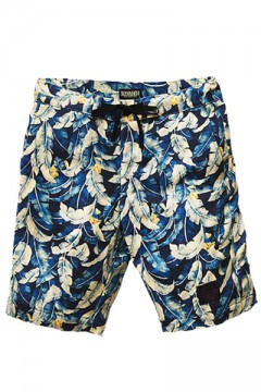 SWEAT ALOHA SHORTS NVY