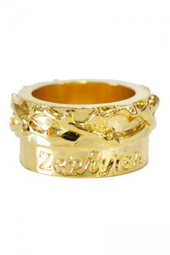 METAL RING -Thorn- GLD