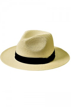 WIDEBRIM PANAMA HAT WHITE