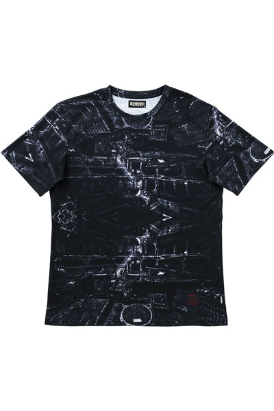 S/S TEE -THE VOID- BLK