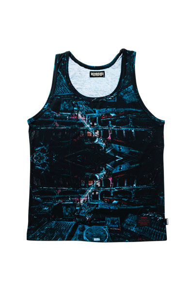 TANK TOP -THE VOID- BLUE