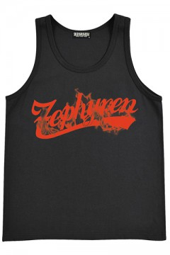TANK TOP -BEYOND FLAME- BLK/RED