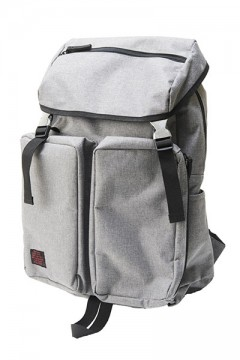 FLAP POCKET BACKPACK GRY