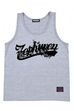 TANK TOP -BEYOND FLAME- GRY
