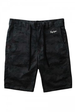 BOTANICAL SHORTS BLACK