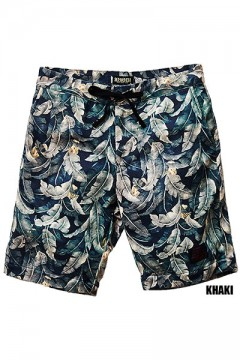 SWEAT ALOHA SHORTS KHAKI
