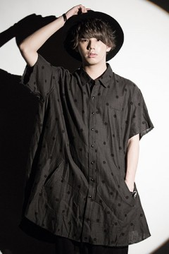 Zephyren (ゼファレン) PONCHO SHIRT S/S -Resolve- DOT