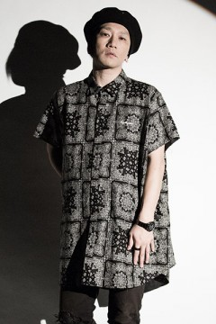Zephyren (ゼファレン) PONCHO SHIRT S/S -Resolve- PAISLEY