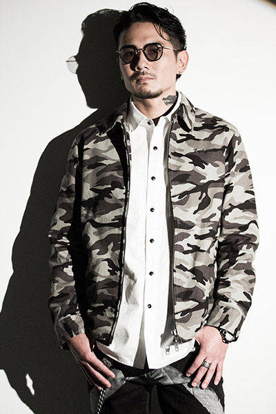 【予約商品】Zephyren (ゼファレン) BANDANA SWING TOP -TRUST- CAMO