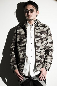 Zephyren (ゼファレン) BANDANA SWING TOP -TRUST- CAMO