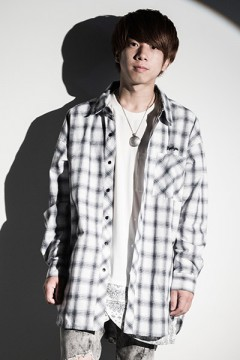 Zephyren (ゼファレン) BIG SHIRT L/S -Resolve- WHITE CHECK