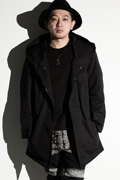 Zephyren (ゼファレン) BIG HOOD MOUNTAIN PARKA BLACK