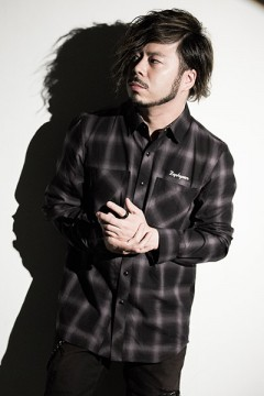 Zephyren (ゼファレン) CHECK SHIRT L/S -Resolve- BLACK
