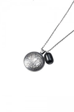 【予約商品】Zephyren (ゼファレン) METAL NECKLACE -LIBERTY- ANTIQUE SILVER