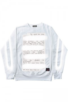 Zephyren (ゼファレン) SWEAT -PLEDGE- WHITE