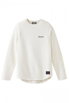 Zephyren (ゼファレン) CUT OFF SWEAT -Resolve- WHITE
