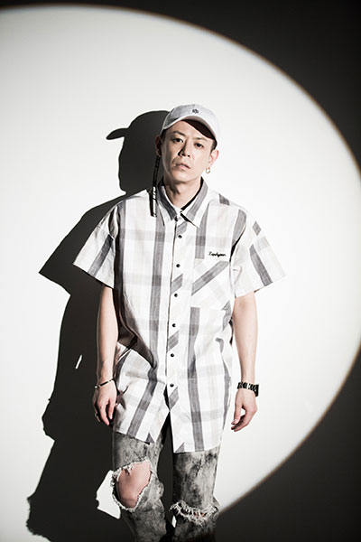 Zephyren (ゼファレン) BIG SHIRT S/S -Resolve- WHITE CHECK