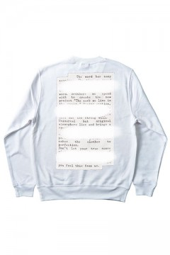 Zephyren (ゼファレン) SWEAT -PLEDGE- WHITE BACK