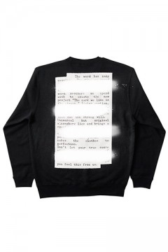 Zephyren (ゼファレン) SWEAT -PLEDGE- BLACK BACK