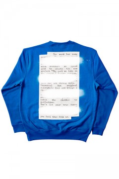 Zephyren (ゼファレン) SWEAT -PLEDGE- BLUE BACK