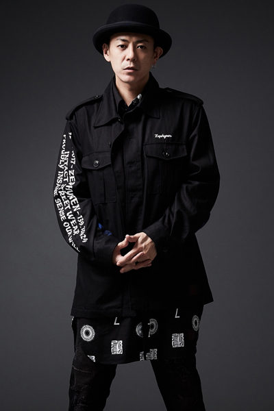 BANDANA MILITARY JACKET BLACK
