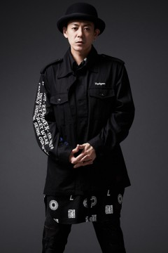 【予約商品】BANDANA MILITARY JACKET BLACK