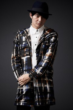 【予約商品】MOUNTAIN PARKA NAVY CHECK