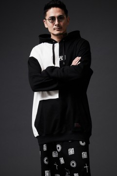 BIG PARKA -PROVE- WHITE/BLACK