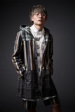 【予約商品】HOOD LONG COAT PATTERN