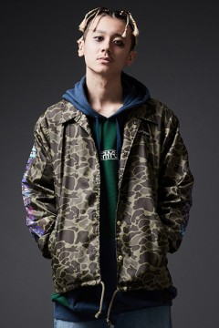 【予約商品】COACH JACKET / Cut the world CAMO 1