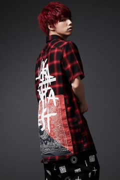 BANDANA SHIRT S/S RED