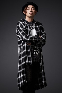 LONG CHECK SHIRT L/S BLACK