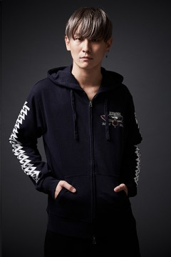 ZIP PARKA -INSTINCT- NAVY