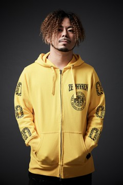 ZIP PARKA -LEVANTA LOS MANOS- YELLOW