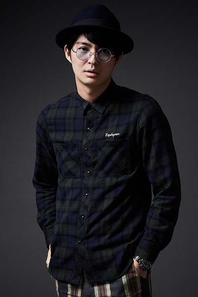 CHECK SHIRT L/S -Resolve- GREEN