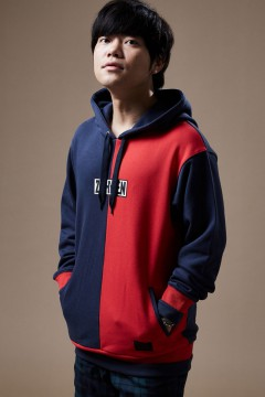 SWITCHING PARKA NAVY / RED