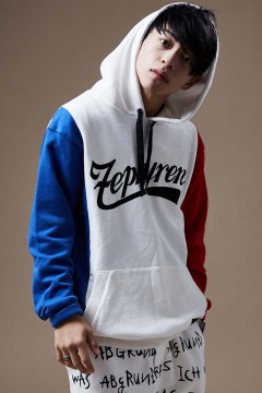 【予約商品】Zephyren(ゼファレン) SWITCHING PARKA WHITE / BLUE / RED