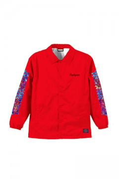 COACH JACKET / Cut the world RED