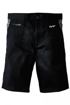 PAISLEY WORK SHORTS BLACK