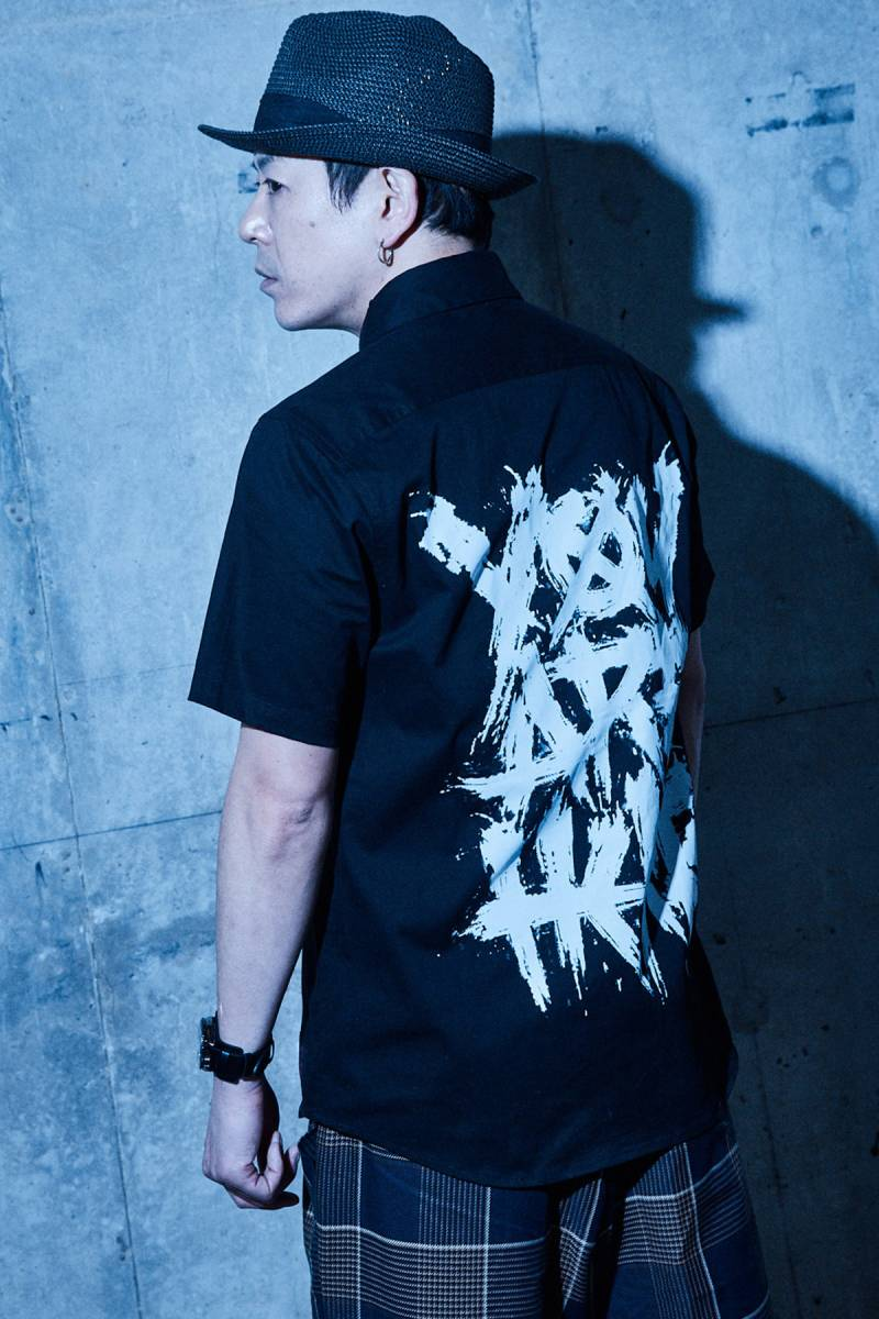 【予約商品】Zephyren(ゼファレン) EMBLEM SHIRT S/S BLACK / You are here