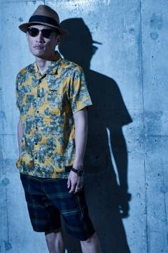 【予約商品】Zephyren(ゼファレン) ALOHA SHIRT S/S - Elysium - YELLOW